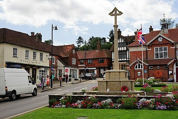 Haslemere town centre - TJ Creative in Haslemere