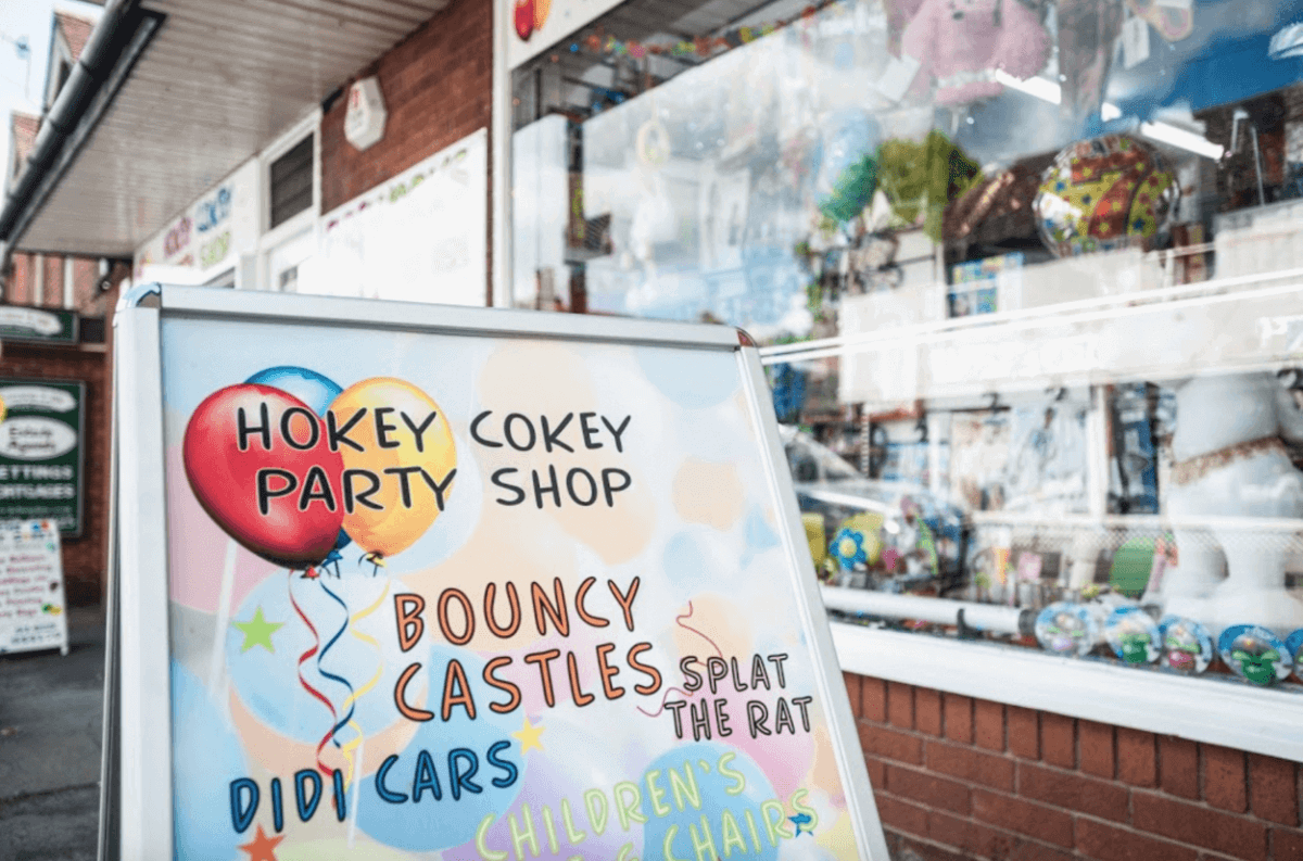 Digital Marketing Services for Party Shops - SEO for The Hokey Cokey