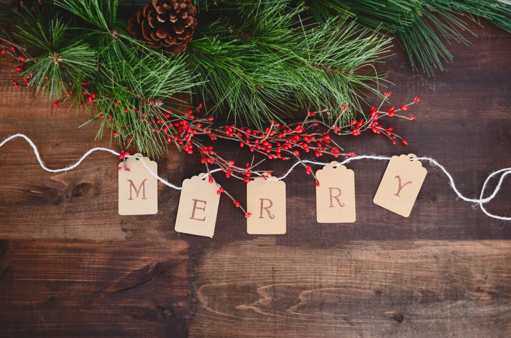 Christmas content writing - Merry message
