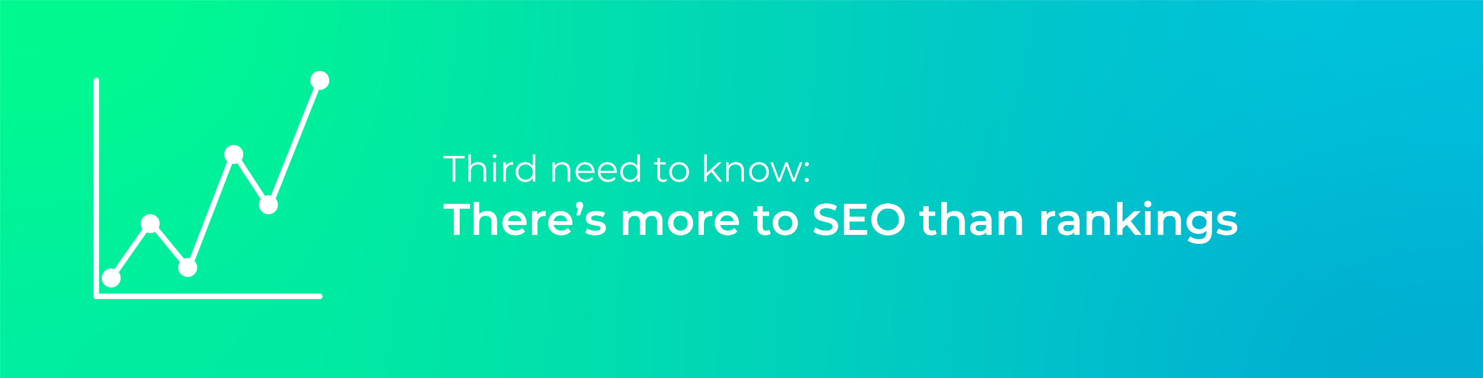 Third need to know - SEO