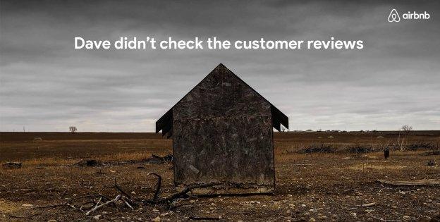 Airbnb visual storytelling advert
