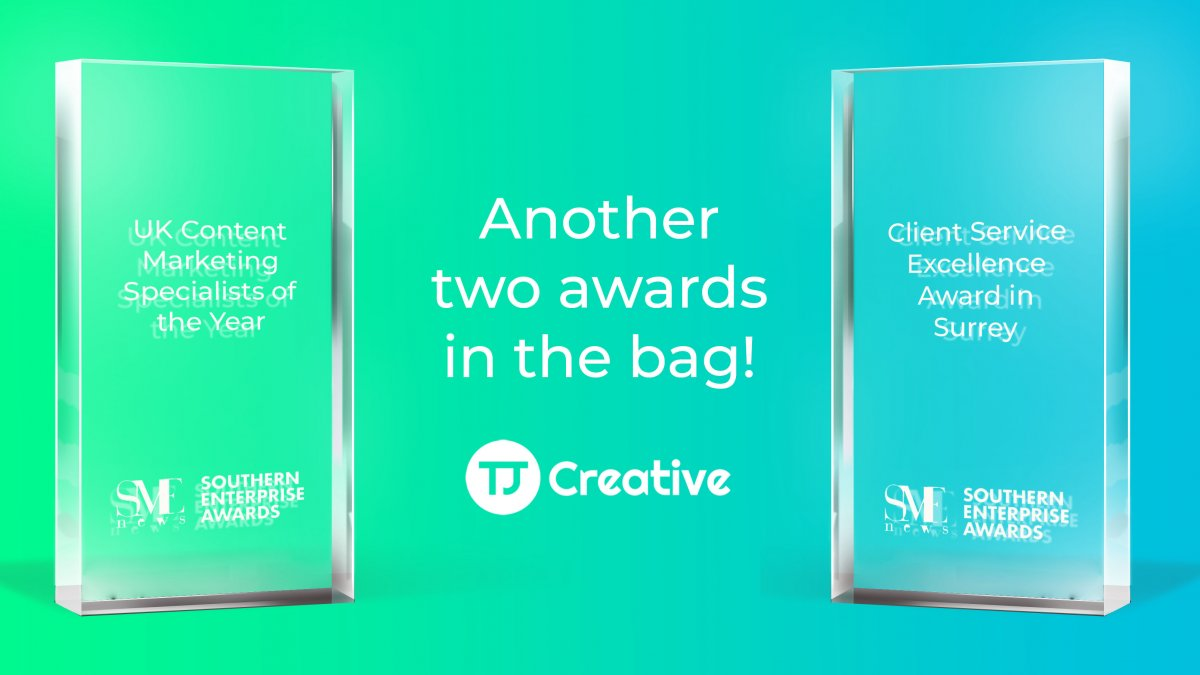 Content Marketing Specialists of the Year TJ Creative
