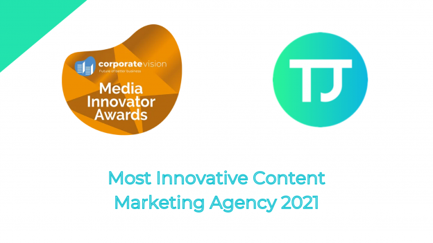 Most Innovative Content Marketing Agency in Surrey 2021 Award