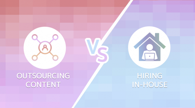 Outsourcing content vs hiring content experts in-house